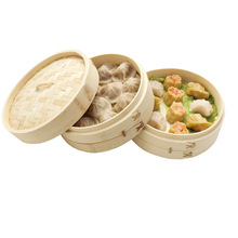 Wholesale dim sum bamboo commercial dumpling vegetable steamer