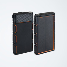 20000mah rohs dual usb portable solar panel powerbank