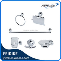 Feidike manufacturer 7200 series 6pcs zinc alloy bathroom accessory sets