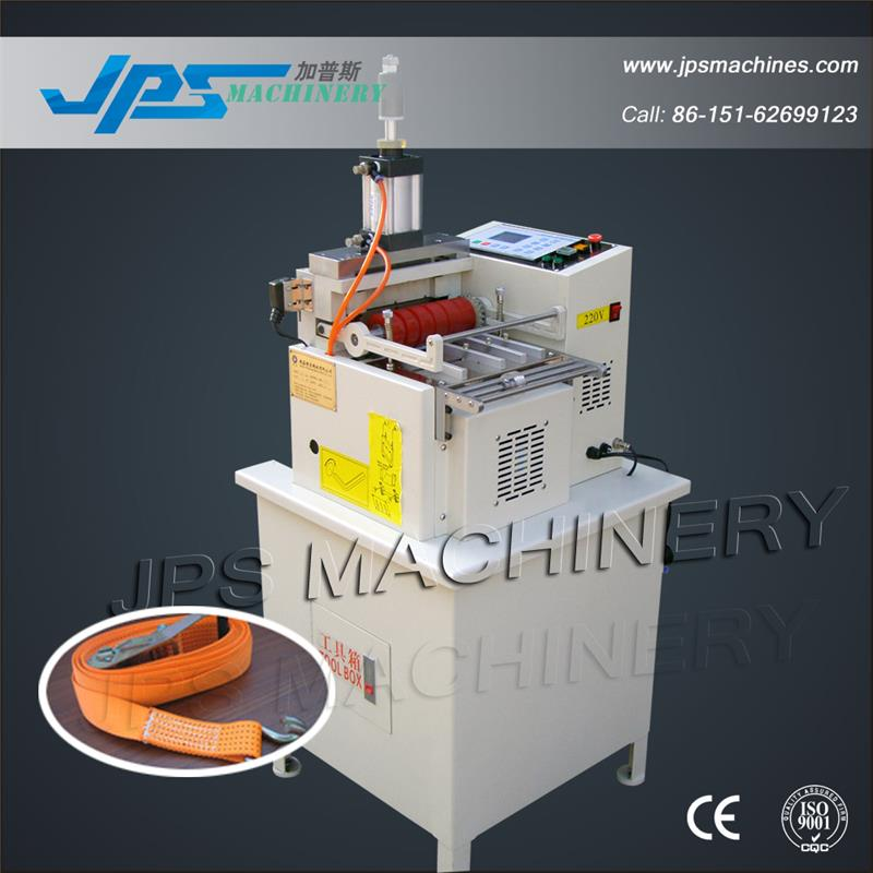 Pneumatic Webbing Tape Cutting Machine With Hot Knife