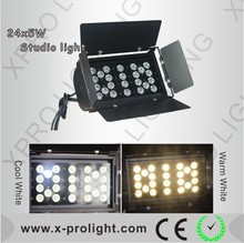 China XPRO-SL24/5 high power led stage light 24pcs*5W led studio light stage ground row light for TV Show, home party, Film