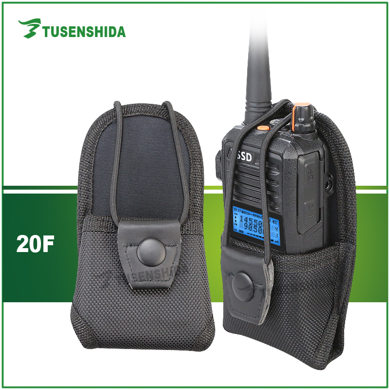 Ham Radio Leather Case MSC-20F for Baofeng Yaesu Motorola Two way radio