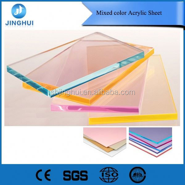 Factory Plexiglass 4ft x 6ft acrylic sheet for advertising sign