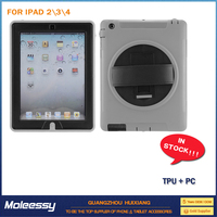 high quality for apple ipad 2/3/4 stand case