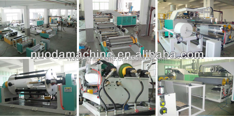 Quanzhou film Machinery equipment for polyethylene film production