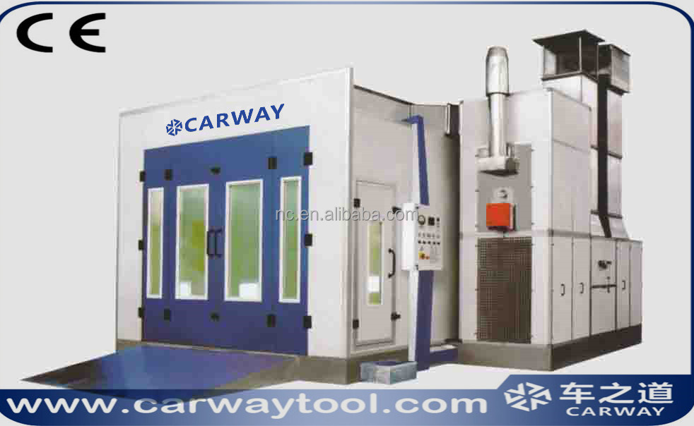 Luxury MV-5 Europe car spray booth & car painting room & auto baking oven