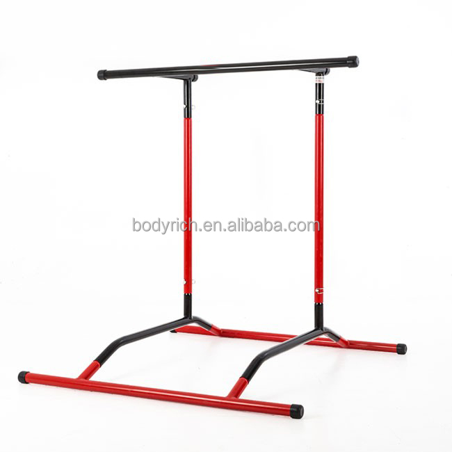 Home Gym Workout Dip Station Pull Up Bar Standing Multi Push Up Knee Raise Stand Rack