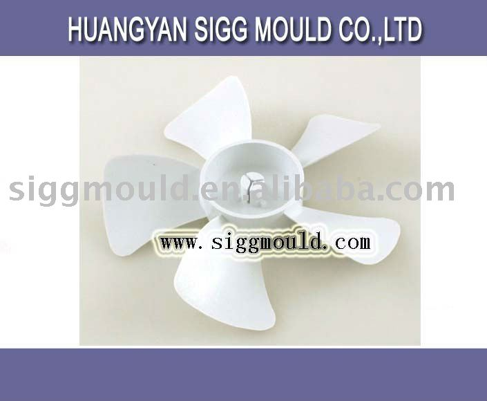 injection plastic fan blade for auto moulds