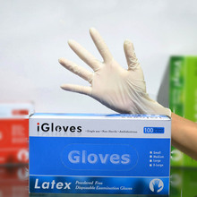 hand gloves latex disposable