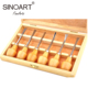 Hand Tools Box Wood Carving Chisel Set For Sculpture Tools