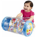 2016 hot selling Early Years Farm Friends Roller/Inflatable Activity Toy/Inflatable Rattling Roller with Animal Prints/Baby Roll