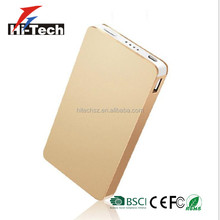 Ultra Slim Power Bank Cell Phone OEM 6000mAh Power Bank 2017