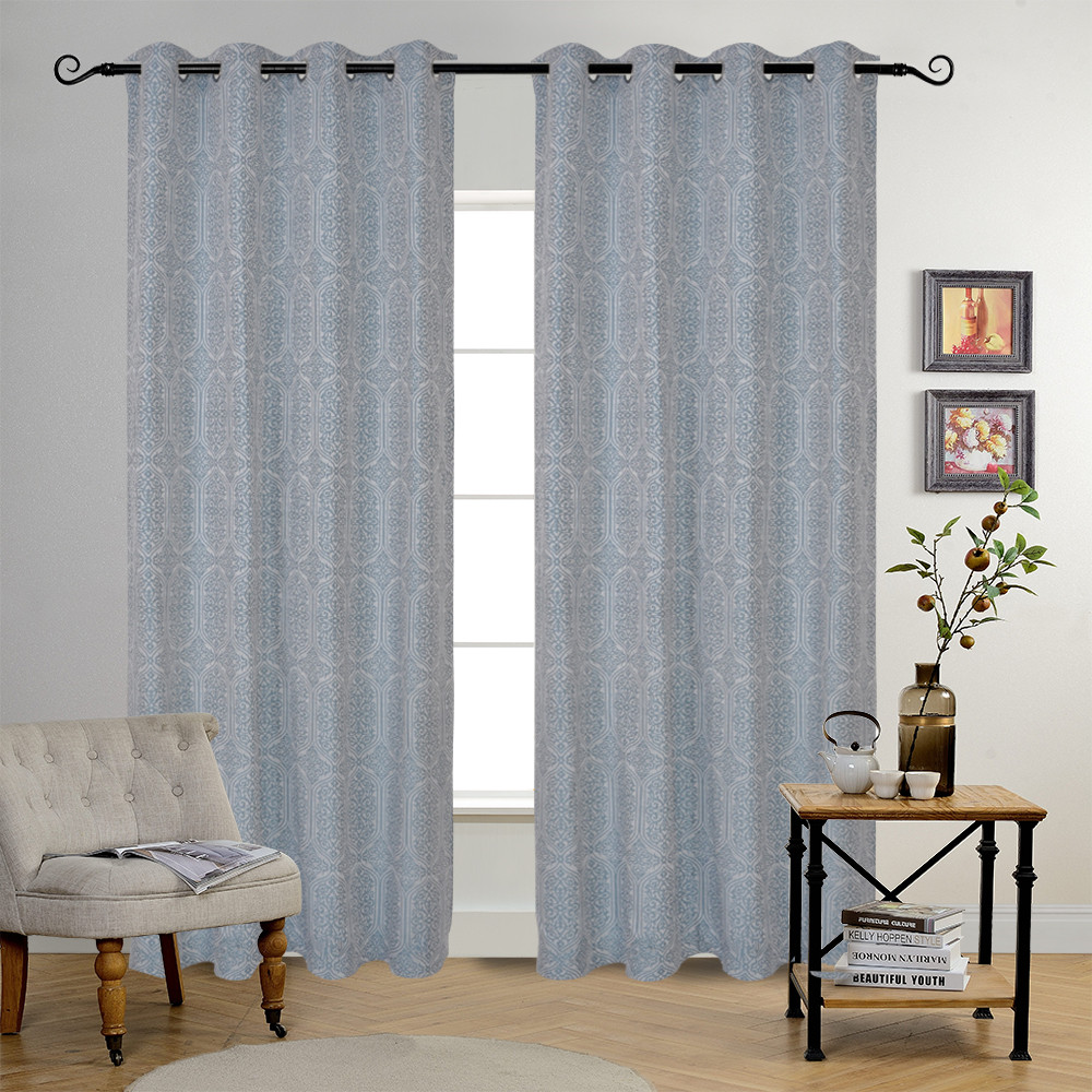 Chinese Factory New Design High Quality Professional Jacquard Curtain