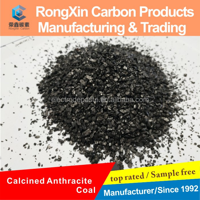 High Quality Calcined Anthracite Coal Price Per ton Making Carburizer