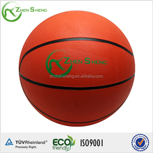 Size 1 rubber basketball with customized logo for promotion