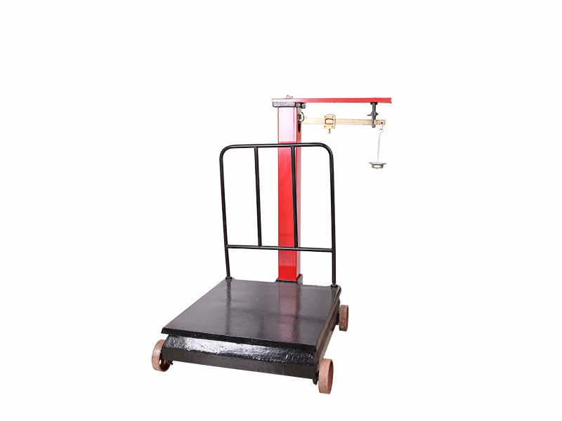 Industrial mechanical heavy platform weighing scale
