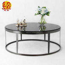 high quality black stainless steel tea table or coffee table furniture