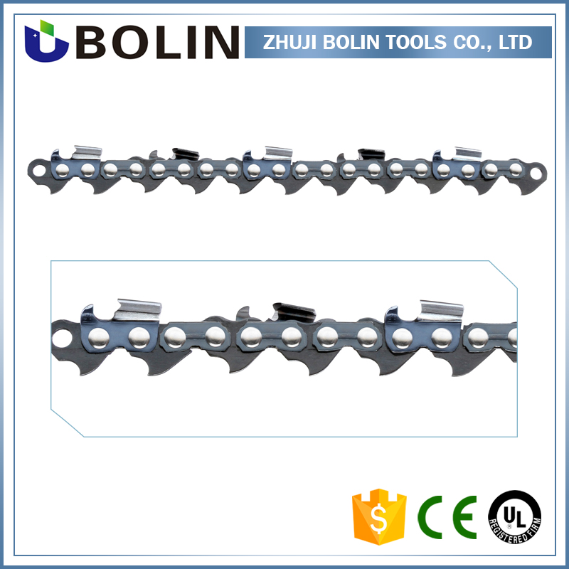 "Light color and high degree of wear 404"" semi chisel chain chainsaw"