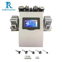6 in 1 laser + 40K ultrasonic cavitation + RF + vacuum liposuction body massage slimming beauty machine for sale