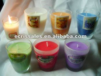 hot sale soy wax candle