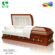 Specular water paint solid wood high gloss caskets for sale