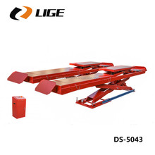 Automotive in-ground scissor car lift for wheel alignment DS-5043