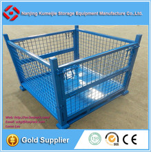 Warehouse Industrial Stacking Metal Pallet Bin