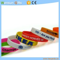 OEM Custom silicone wristbands promotional bracelet cheap gifts