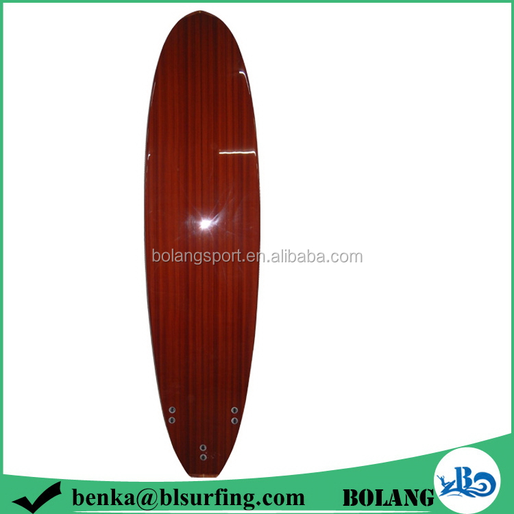 2015 china new products wooden standup paddle board