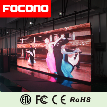 High brightness ultra thin Outdoor Full Color rental hanging bar for led screen