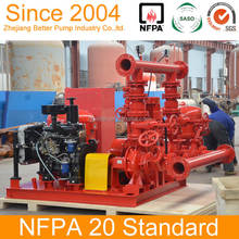 NFPA 20 100-6000gpm Packaged Fire Pump Set