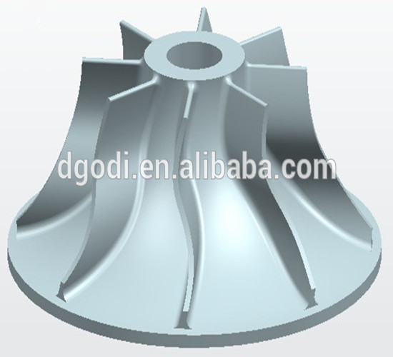 Alibaba supplier custom centrifugal fan impeller for centrifugal pumps