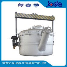 0.3-10 tons heat preservation Uncovered liquid steel pouring ladle for foundry factory