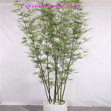 Q101624 artificial bamboo tree garden decoration large outdoor bonsai plants for sale