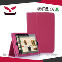 Foldable Flip Stand Leather Back Case Cover for Ipad Mini, for Ipad Mini Book Leather Case