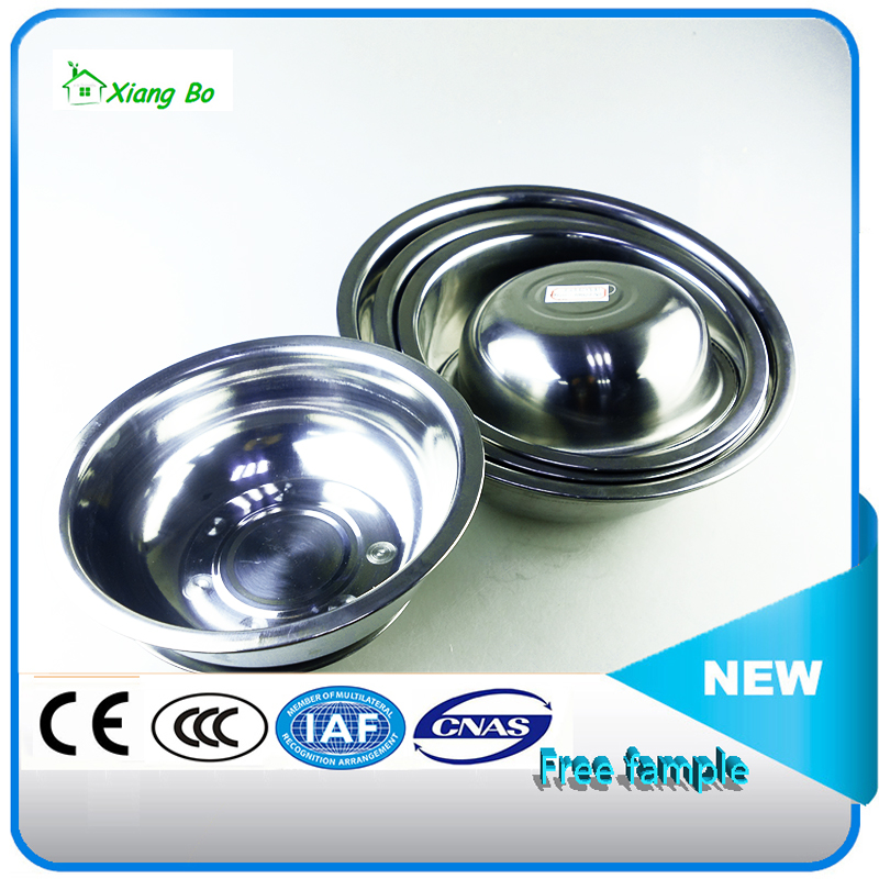hot salling stainless steel mixing bowl /soup plate made in China