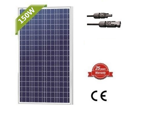 multi junction solar cell 150w solar panel
