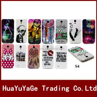 Luxury Colorful Pattern Soft TPU phone cases cover for Samsung Galaxy S4 i9500
