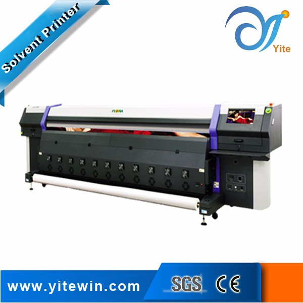 High speed printing machine with spectra polaris print head for flora printer lj320p