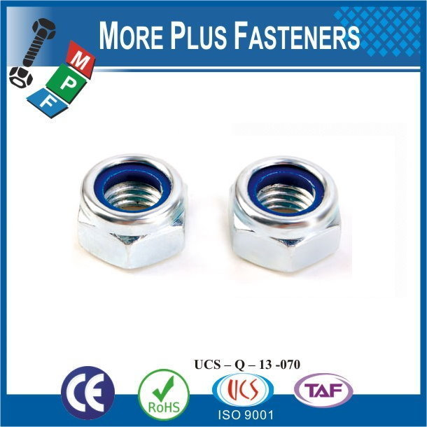 Made in Taiwan M12-1.75 DIN 980 Grade A2 Stainless Steel Top Lock Nut