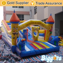 Popular Inflatable Water Slide Jumping Castle With Slide For Kids