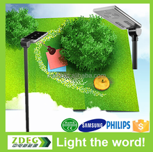 CE RoHS IP Testing approved solar street light , outdoor lighting street light led