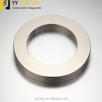 China cheap large neodymium ring strong permanent magnet for sale