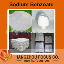 sodium benzoate Food Grade powder for coke