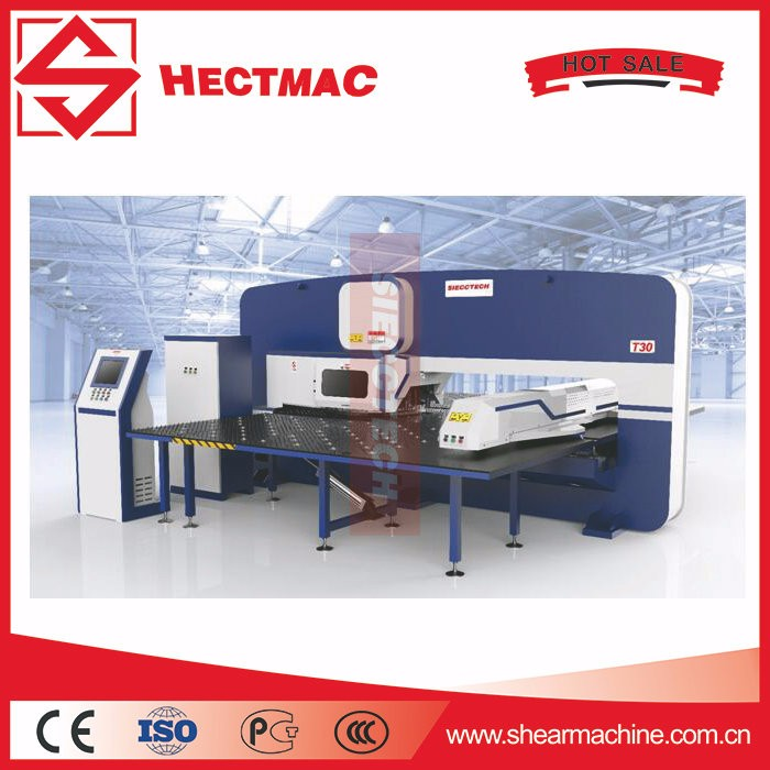 Steel Plate Mechanical CNC Turret Punching Machine
