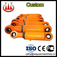 Hydraulic single cylinder car lift