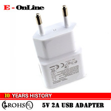 New EU/US plug Adapter 5V 2A EU USB Wall Charger Mobile phone charger Galaxy S5 Note4 N9000 mobile phone charger
