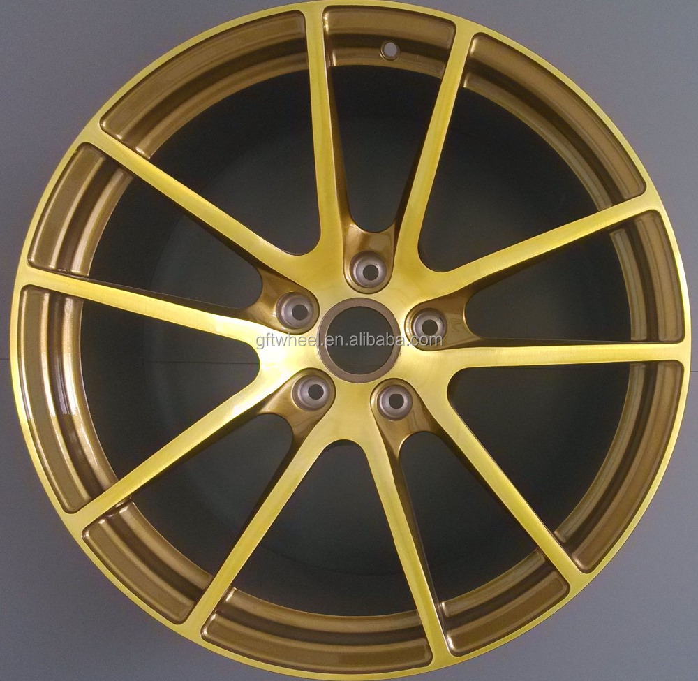 18 inch 19 inch 20 inch forged car alloy wheels monoblock pieces forged wheels