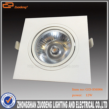 Zhongshan 2 3 4 wires stage used Warm White downlight led 150mm cutout