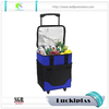 40l foldable trolley insulated picnic wine cooler bag with wheels